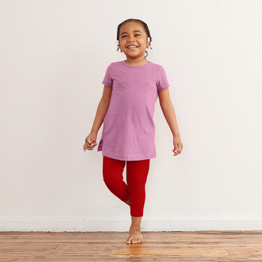 9ad1a1fffcc574 Kids Short Sleeve Tunic Tee - Kids Tops I Primary.com