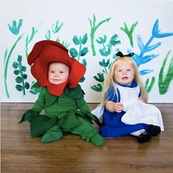 No Sew Diy Alice In Wonderland Baby Baby Costume Primary Com