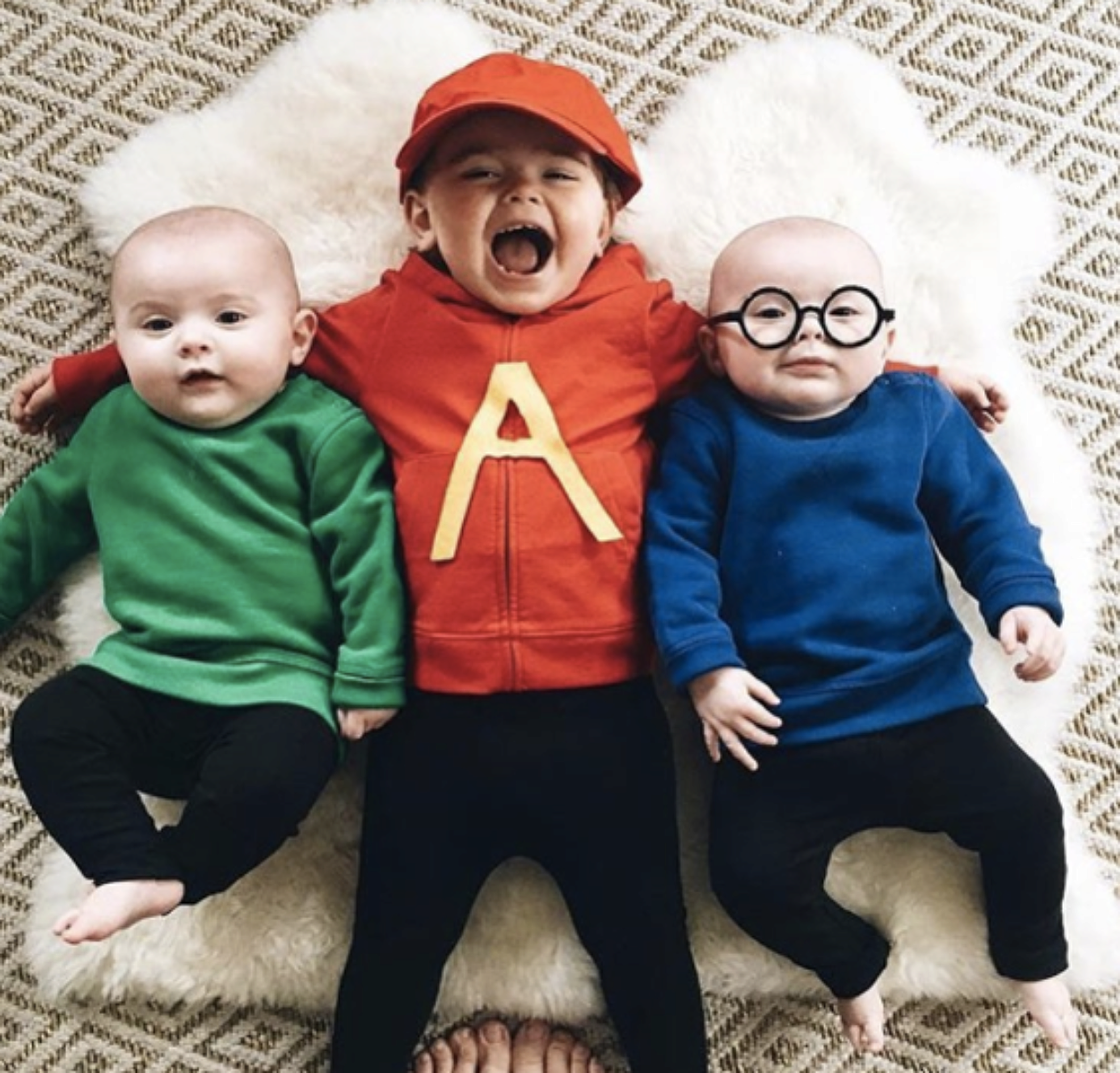 No sew diy kids and baby costumes primary no sew diy alvin and the chipmunks characters costume primary solutioingenieria Images