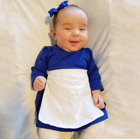 belle village dress baby