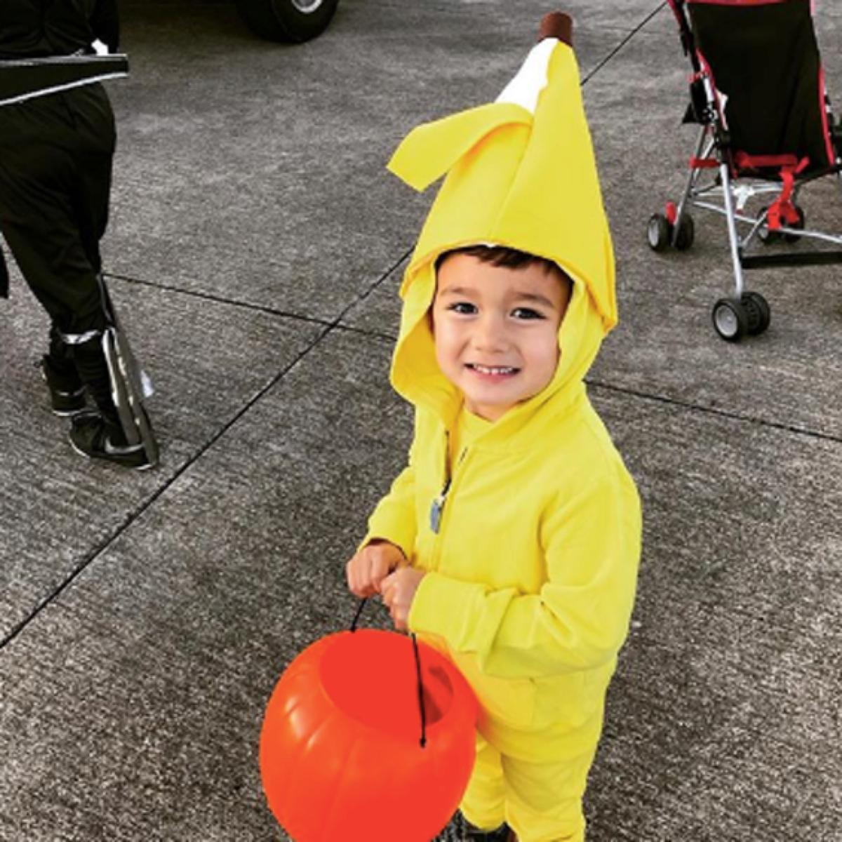 No sew diy kids and baby costumes primary no sew diy banana food costume primary solutioingenieria Choice Image