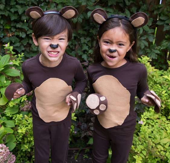 No Sew Diy Bears Kids Costume Primary Com
