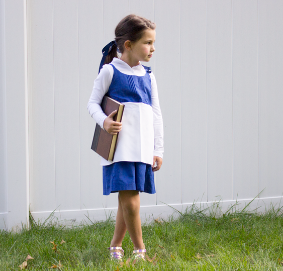 no sew diy belle village dress kids costume primarycom