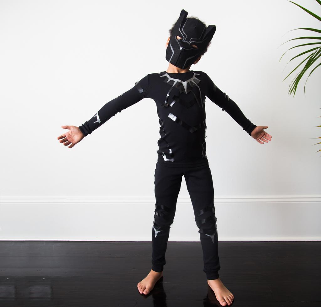 Image result for diy black panther costume kids