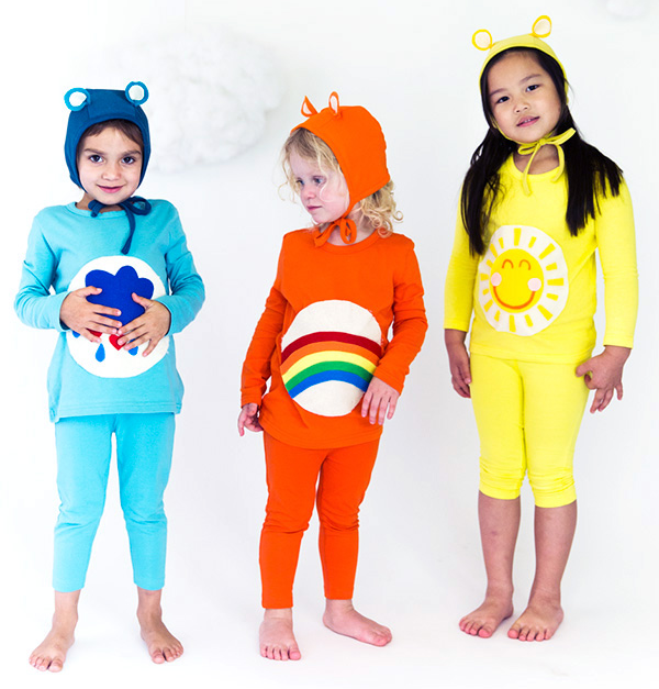 No-Sew DIY care bears animals Costume | Primary.com  sc 1 st  Primary : care bears halloween costumes  - Germanpascual.Com