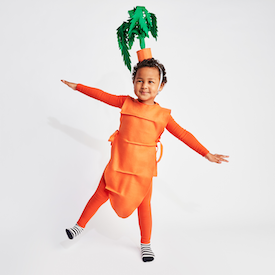 No-Sew DIY carrot food Costume | Primary.com  sc 1 st  Primary & No-Sew DIY Kids and Baby Costumes | Primary.com