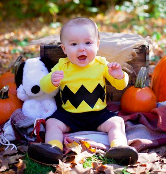 no sew diy charlie brown baby baby costume primarycom