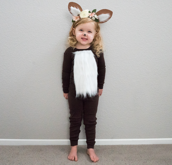 No-Sew DIY deer animals Costume | Primary.com  sc 1 st  Primary : girls reindeer costume  - Germanpascual.Com