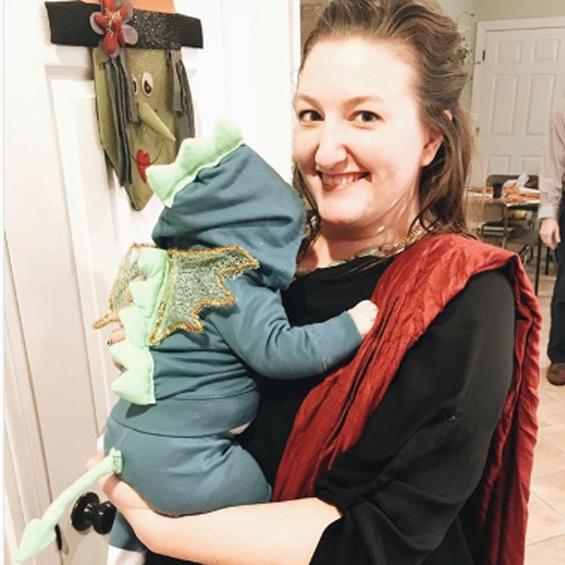 No Sew Diy Dragon Baby Baby Costume Primary Com