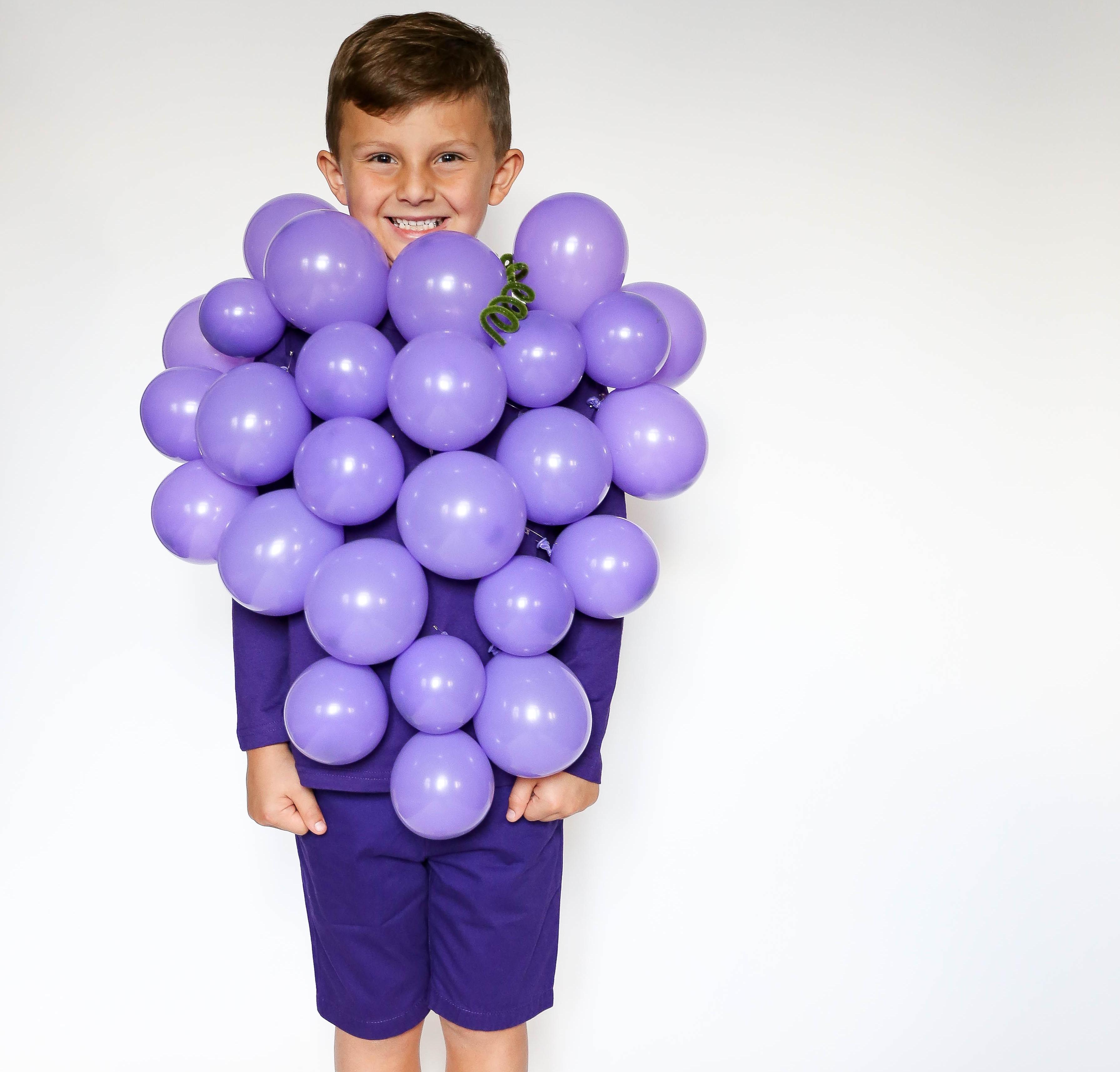 No-Sew DIY grape food Costume | Primary.com  sc 1 st  Primary & No-Sew DIY Grape Kids Costume | Primary.com