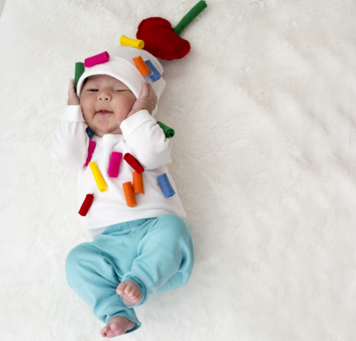 No-Sew DIY ice cream sundae food Costume | Primary.com  sc 1 th 220 : baby costume diy  - Germanpascual.Com
