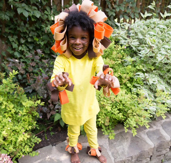 No Sew Diy Lion Kids Costume Primary Com