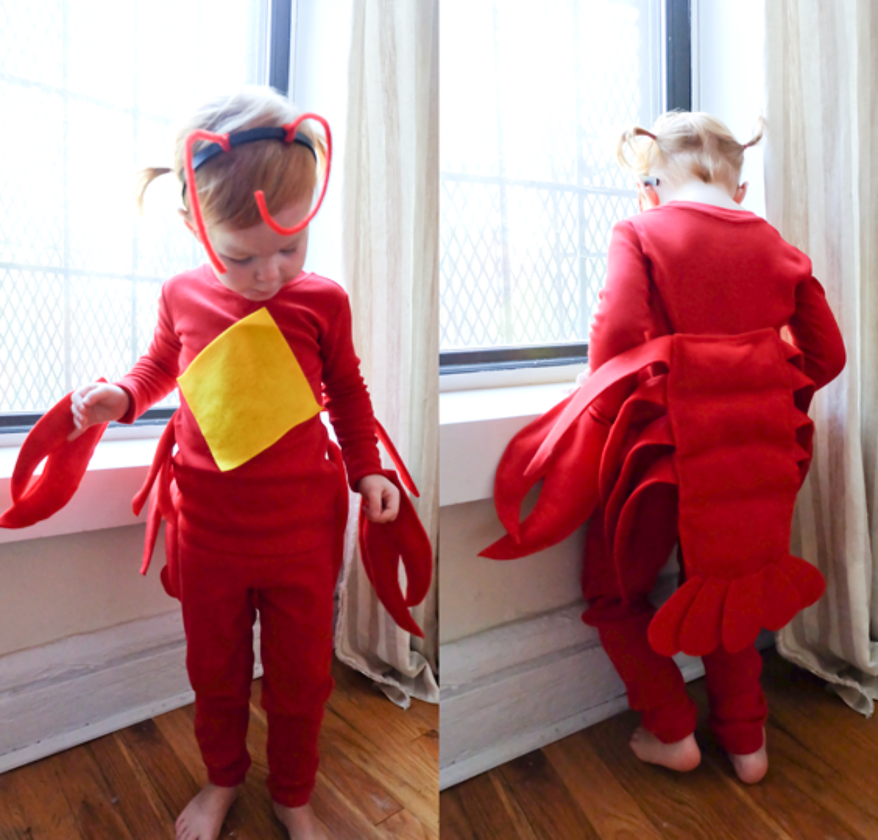 No sew diy kids and baby costumes primary no sew diy lobster animals costume primary solutioingenieria Gallery