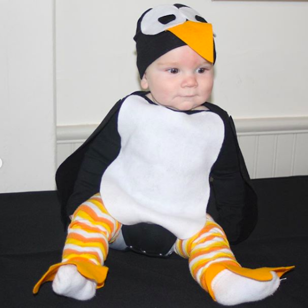 No Sew Diy Penguin Baby Baby Costume Primary Com