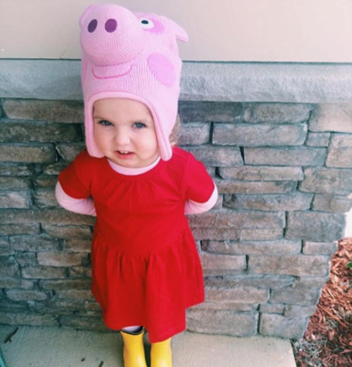 No Sew Diy Peppa Pig Kids Costume Primary Com