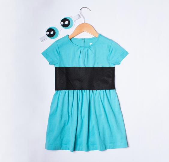 No Sew Diy Powerpuff Girl Kids Costume Primarycom