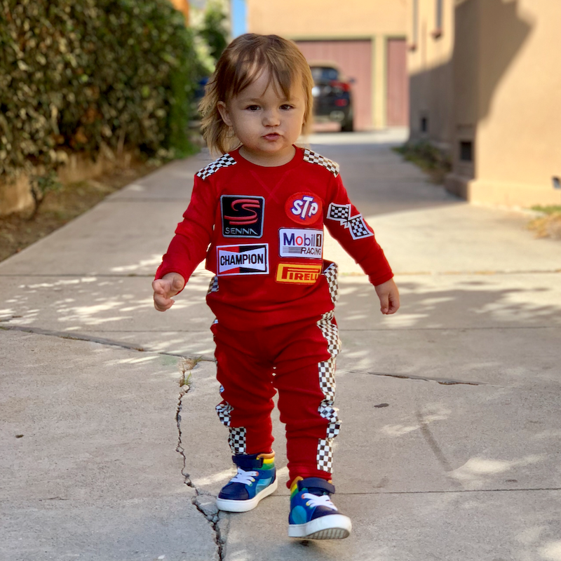 No Sew Diy Race Car Driver Kids Costume Primary Com
