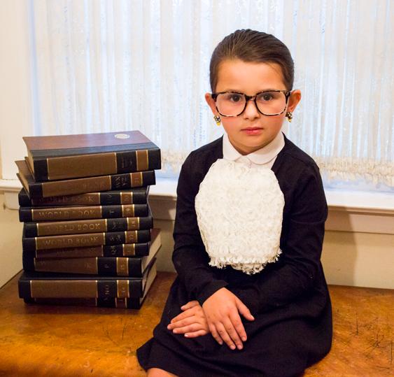 Sew Diy Ruth Baby Ginsburg Kids Costume Primary