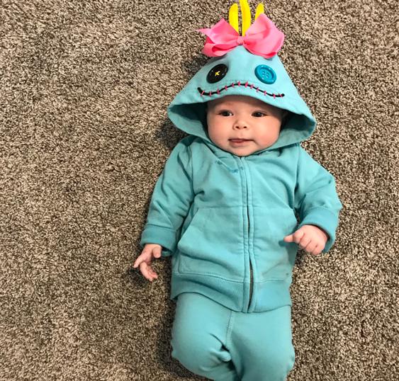 No Sew Diy Scrump From Lilo And Stitch Baby Costume Primary Com