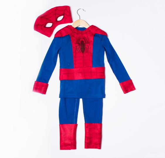 3ebba829 No-Sew DIY Spiderman Kids Costume | Primary.com
