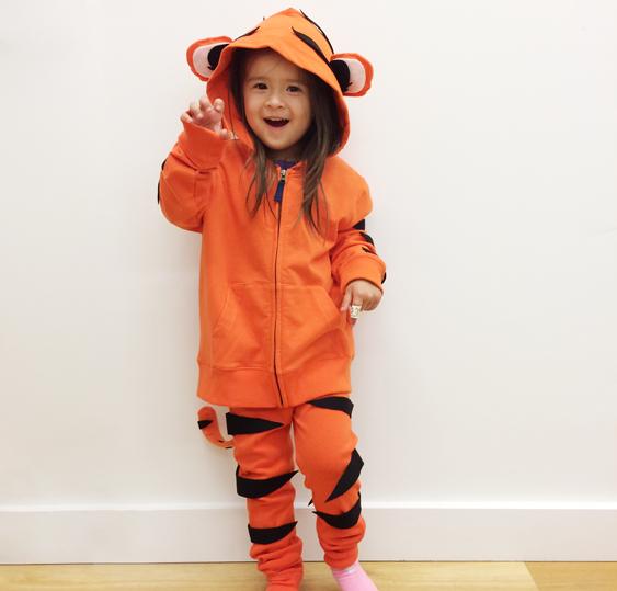 No Sew Diy Tiger Kids Costume Primary Com