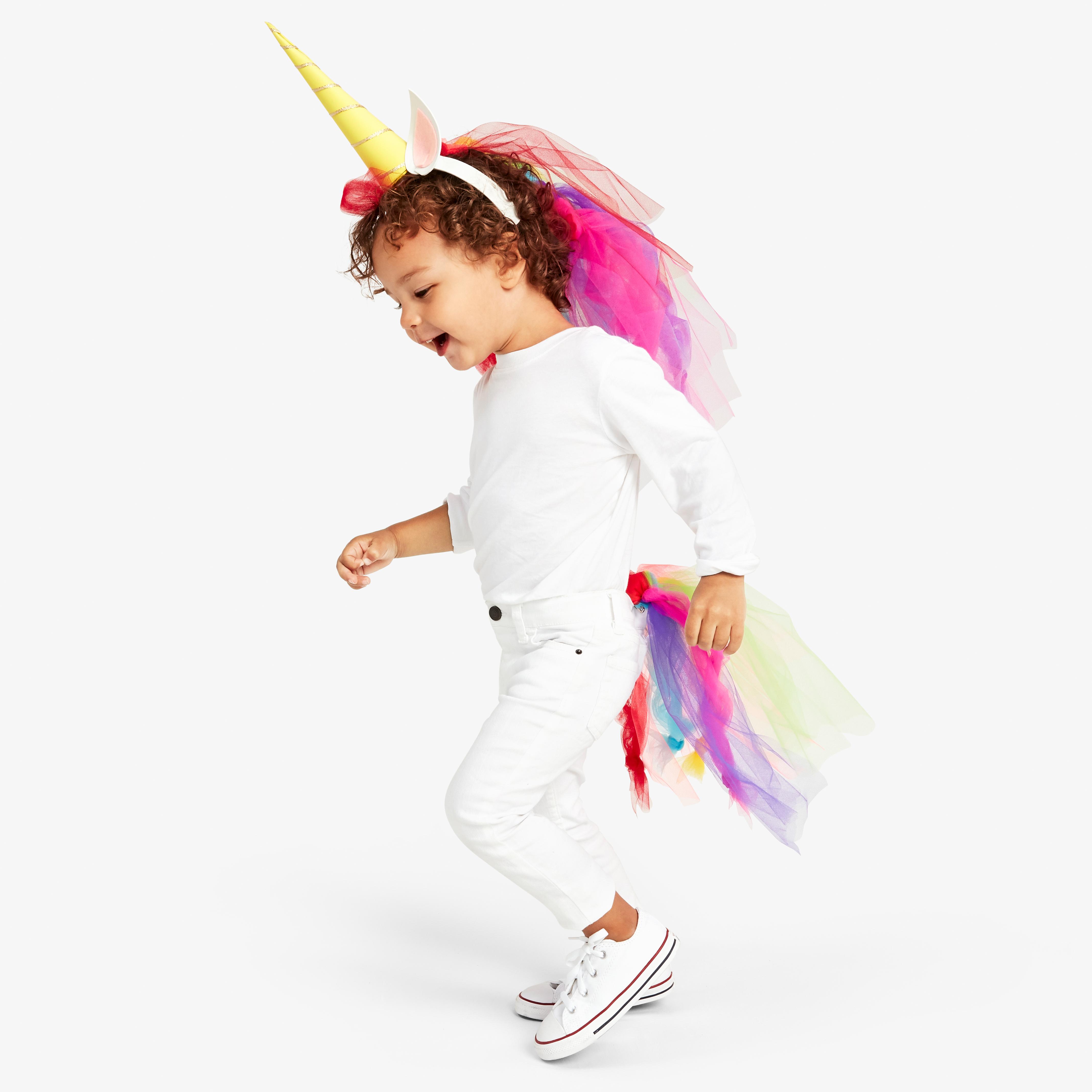 No Sew Diy Unicorn Kids Costume Primary Com