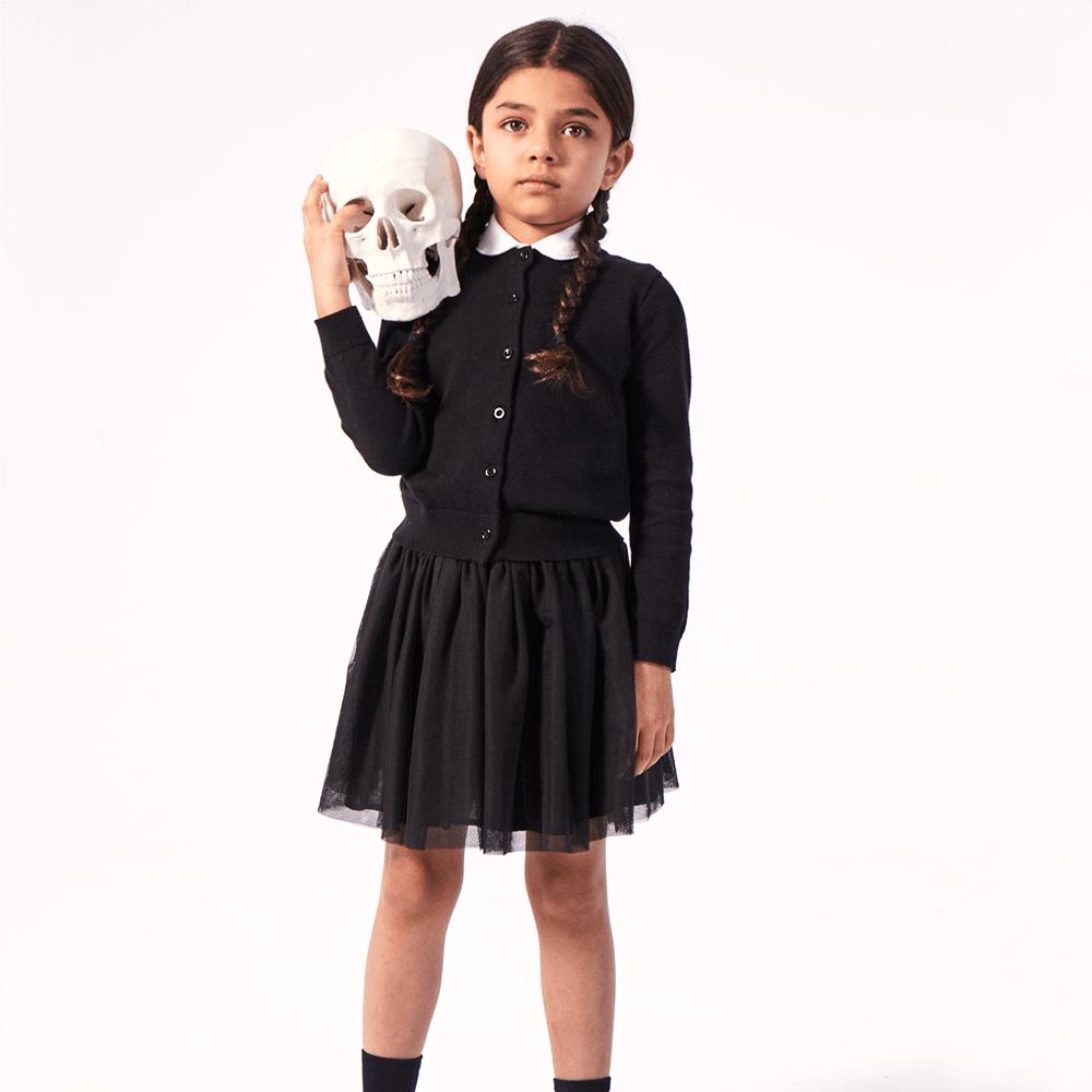 no sew diy wednesday addams kids costume primary com