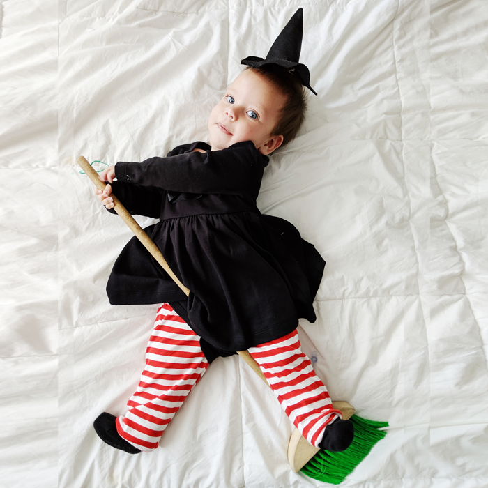 No Sew Diy Witch Baby Baby Costume Primary Com