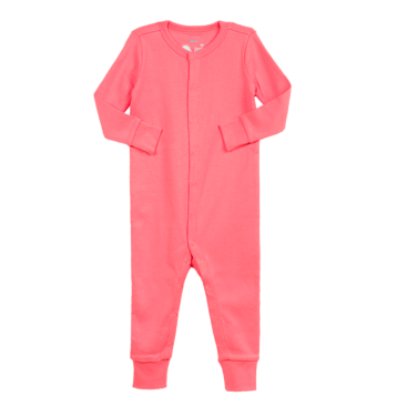 655bb835c The Baby Snap Romper - Footless Baby Pajamas I Primary.com